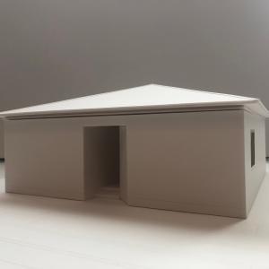 模型ができました ~ c-house in 軽井沢