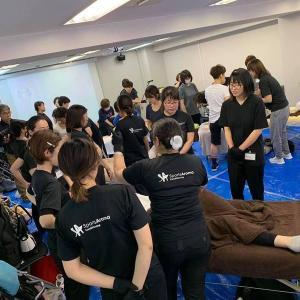 スポーツアロマ・コンディショニングトレーナー研修2019①