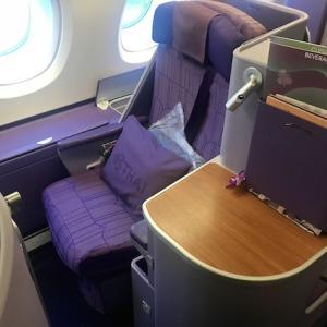 ◆タイ航空 A380 ロイヤルシルククラス 成田→バンコク◆