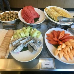 ◆グランデ センター ポイント ホテル プルンチットの朝食◆