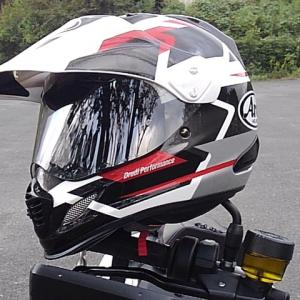 New Helmet Arai ツアークロス3