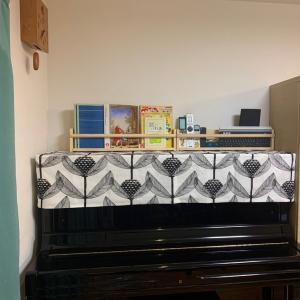 北欧シナマーク社ビヨルンバースブロンマのピアノカバー&シェードは埼玉へ~