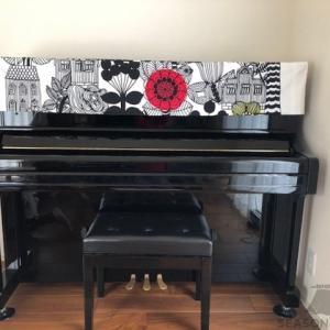 リントゥコトのピアノトップカバーをお届けしました~新潟県