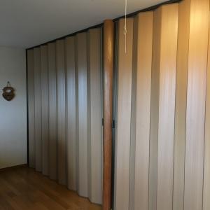 木質感のあるパーテーション、アコウォールを取り付けました~菊川市