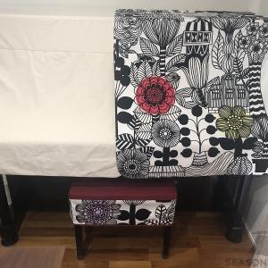 リントゥコトのピアノカバー&椅子カバーをお届けしました