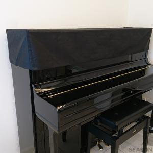 C&Cモアレ柄のピアノカバーをお作りしました