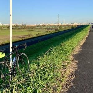入間サイクリングロード&荒川サイクリングロード 秋の晴天 プチサイクリング