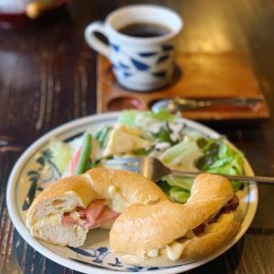 【徳島】ハンドピックのコーヒーとベーグルサンド