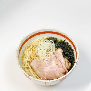 【おうちごはん】ばら海苔と乾麺でアーサーそば風
