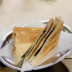 【神田】元祖海苔トーストの味は?
