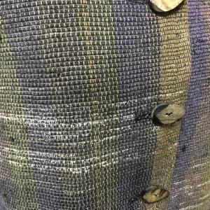 裂織りジャケット
