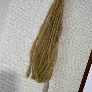 初めての糸紡ぎ