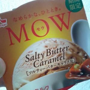 森永乳業 MOW ソルティバターキャラメル