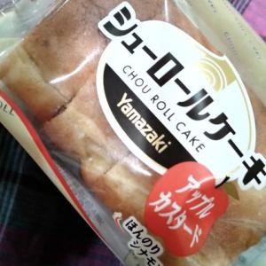 ヤマザキ シューロールケーキ アップルカスタード
