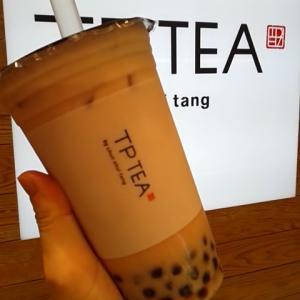 TP TEA(ティーピーティー) タピオカ苺ミルクティー