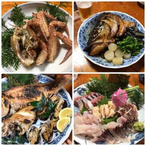 フェアウェル魚パーティー