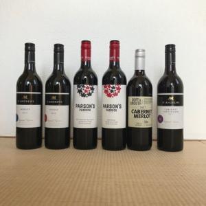 オーストラリアの赤ワインセット