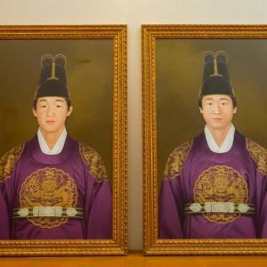文孝進様 及び 興進様 肖像画奉安礼拝 / 2019_10_28