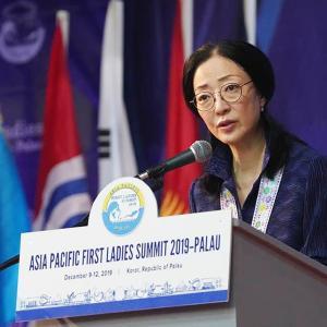 [フォトニュース]アジア太平洋夫人連合の発足式(10日、パラオ)