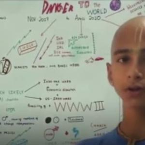14歳の占星術師がコロナ事態を予言、第二予言も中国(無神論から)?
