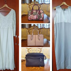 真のお母様が出品された服・バッグのオークション、慈善団体に寄付として