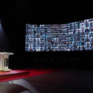 神統一世界安着のための100万希望前進大会盛況のうちに開催
