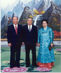 天一国摂理史-- 真の父母様北朝鮮訪問(1991.11.30~、12月3・4日)