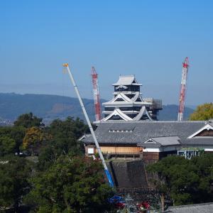再建目指して頑張る熊本城(九州の旅⑦)