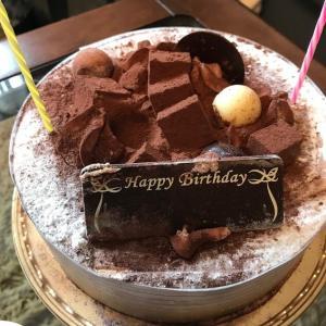 2月生まれのバースデーケーキ