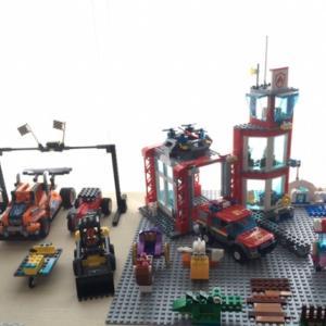 3歳の息子のレゴコレクション