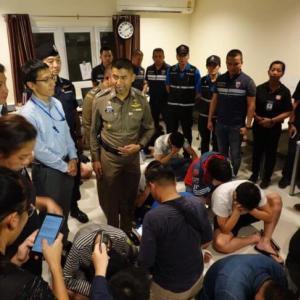 パタヤで日本人15人逮捕! 存在しない借金を電子マネーで返済!?
