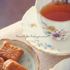 【おうちカフェ】重盛の人形焼きと紅茶