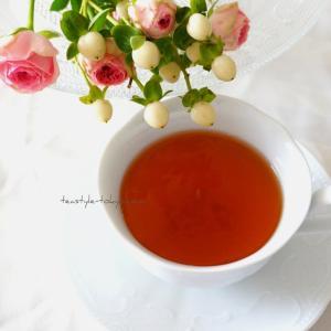 【秋の美活紅茶】神奈川県人気タウンにあるサロン様用、秋の紅茶