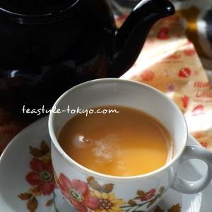 【今朝の紅茶】あさごはん、金曜朝のミルクティー