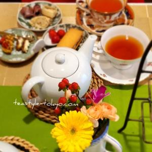 【紅茶レッスンのお知らせ】2月後半~3月の紅茶教室ティースタイル