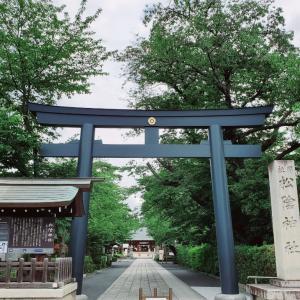 茅の輪と松陰神社