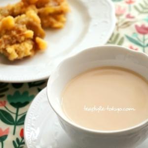 【3分間の紅茶時間】アップルクランブルと紅茶