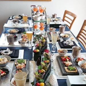 感謝♪和のクリスマステーブルで「冷凍術を使った時短料理レッスン」12月2日