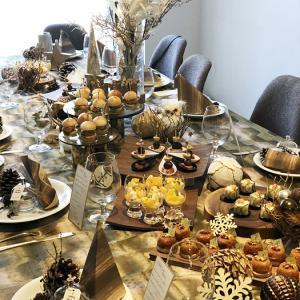 クリスマスのおもてなしコラボレッスン♪ホームパーティーを楽しむためのテーブルとお料理