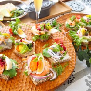 スモーブロー(デンマークのオープンサンド)♪「北欧料理レッスン」