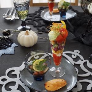野菜のパフェでホームパーティーレッスン♪