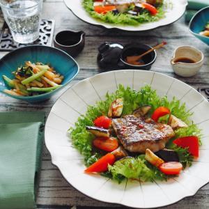 大戸屋のkit Oisixで お魚と野菜のお昼ごはん♪
