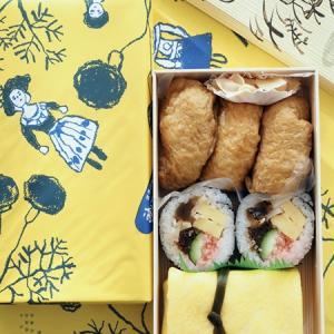 お稲荷さん茶巾寿司のお土産♪神田志乃多寿司