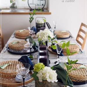 6月の和食テーブルコーディネート♪