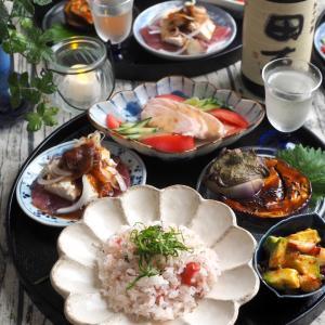 雑魚と梅寿司♪