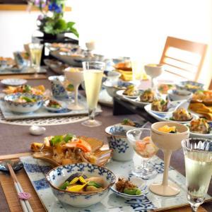 秋のおうちごはんレッスン4日目のテーブルとお茶♪