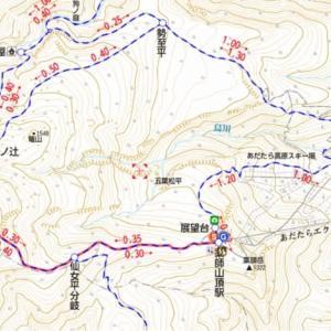 絶景が見れるはずだった安達太良山に登ってきました♪