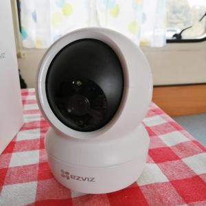 見守りカメラ【EZVIZ レビュー】ペット自動追跡でララも安心│世界トップクラスのシェア