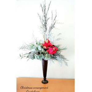 ホワイトクリスマスアレンジメント~レンタルフラワー