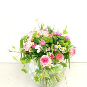 お花を摘んできたような花束~フラワーアレンジメントコース